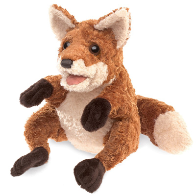 Crafty Fox puppet 1