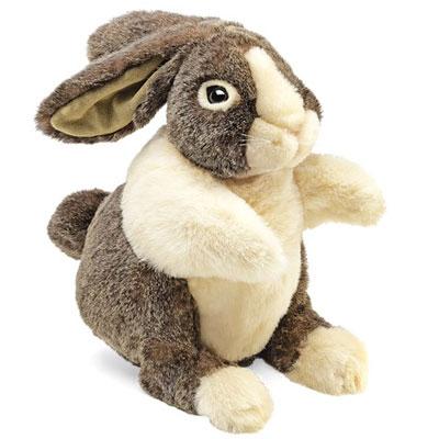 Dutch Rabbit Puppet 1