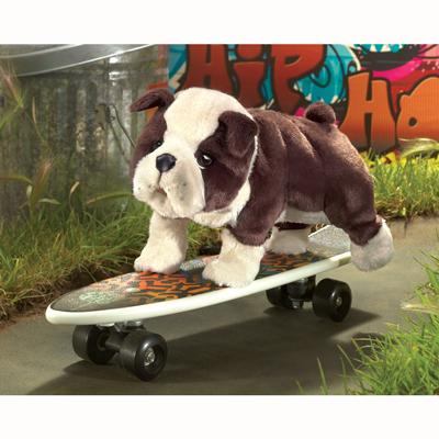 English Bulldog Puppy Puppet 1