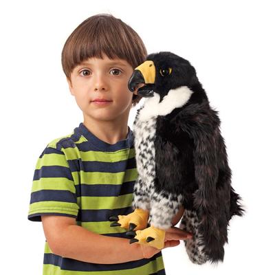 Peregrine Falcon puppet 2