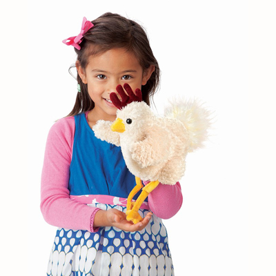 Funky Chicken Puppet 2