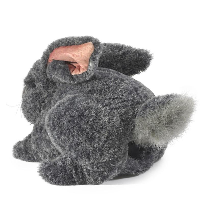 Gray Bunny Rabbit puppet by Folkmanis 2