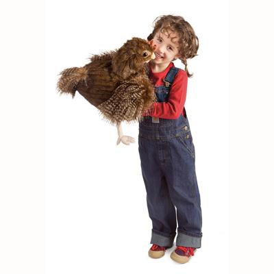 Hen Puppet 3