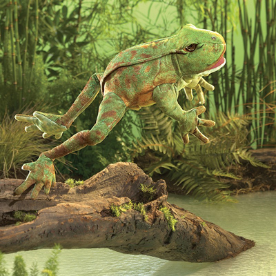Jumping Frog Puppet 1