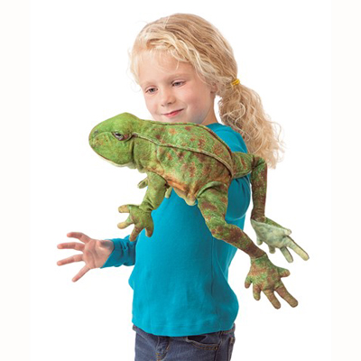 Jumping Frog Puppet 2