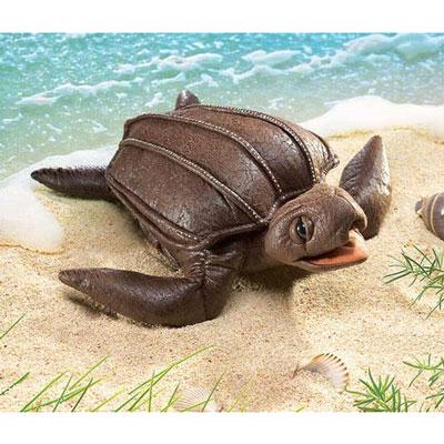 Leatherback Sea Turtle puppet 1
