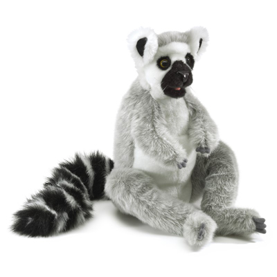 Ring-tailed Lemur Puppet 1