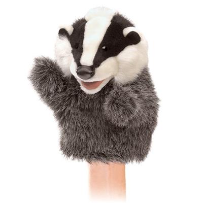 Little Badger puppet 1