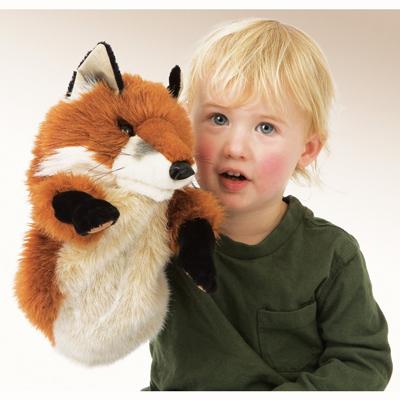 Little Fox puppet 2