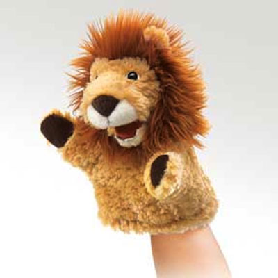 Little lion puppet by Folkmanis 1