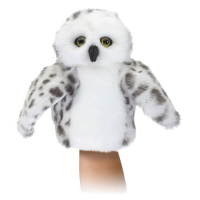 Little Snowy Owl Puppet 1