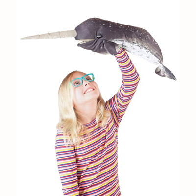 Narwhal puppet 2