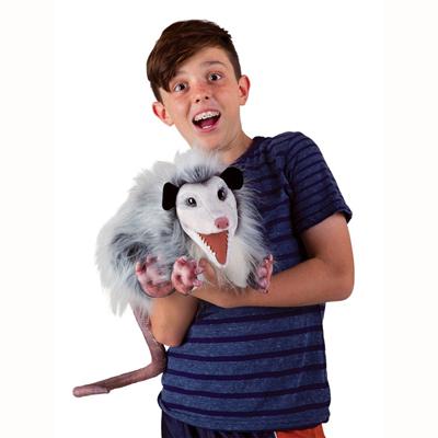 Opossum puppet 3