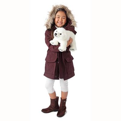 Polar Bear cub puppet 2