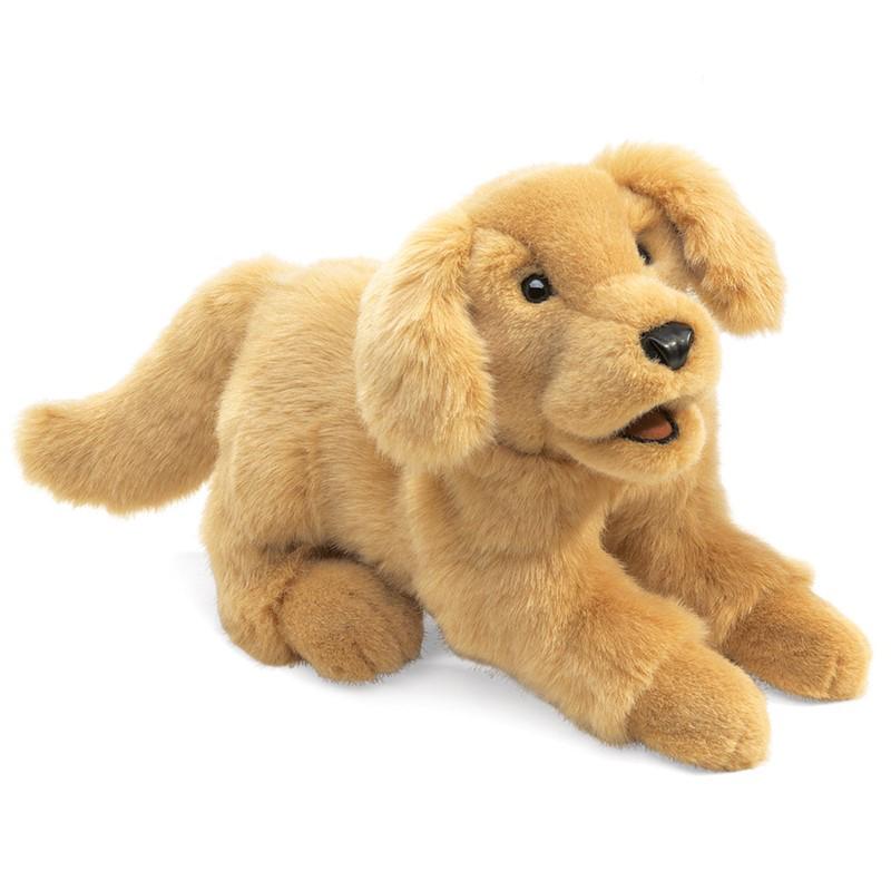 Golden Retriever Puppy Puppet 1