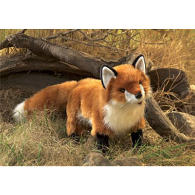 Red Fox puppet by Folkmanis 1