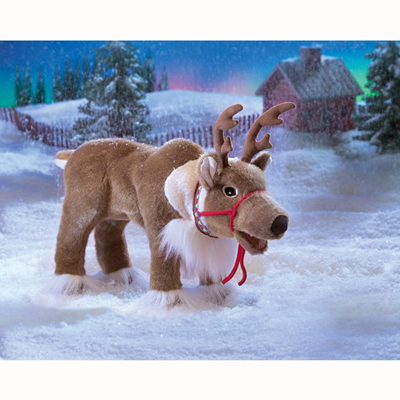 Reindeer puppet 1