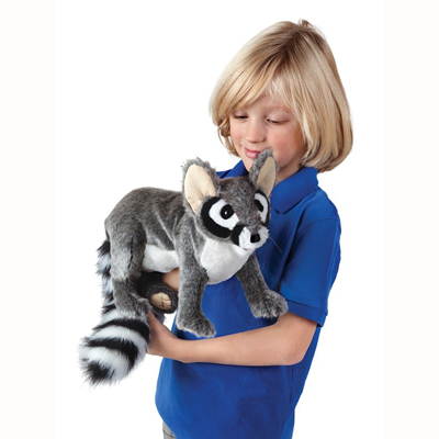 Ringtail Cat puppet 3