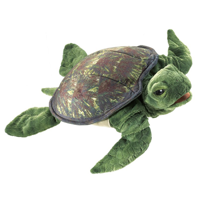 Sea Turtle puppet 1