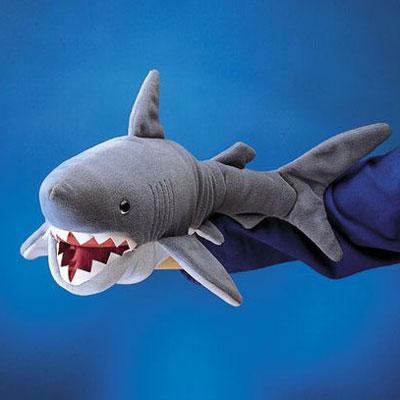 Shark Puppet 1