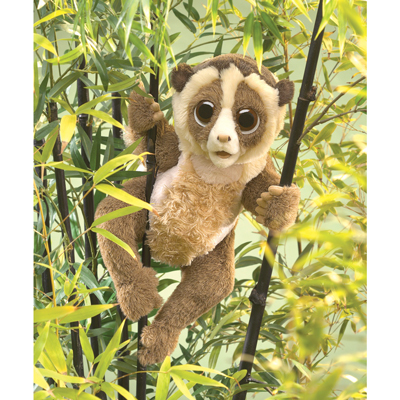 Slow Loris puppet 1