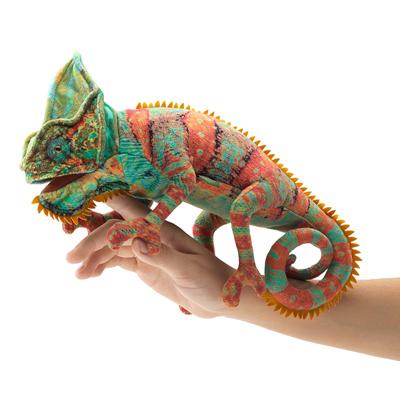 Small Chameleon Puppet 1