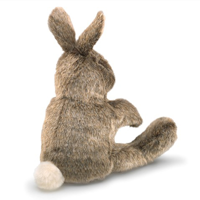 Small Cottontail Rabbit Puppet 2
