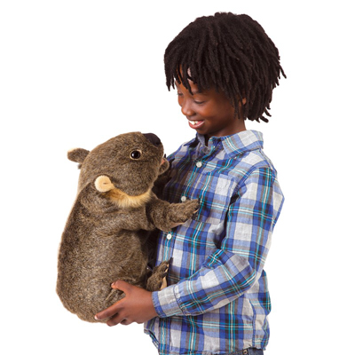 Wombat puppet 3