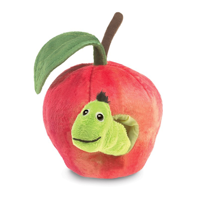 Worm in Apple puppet 1