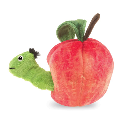 Worm in Apple puppet 2