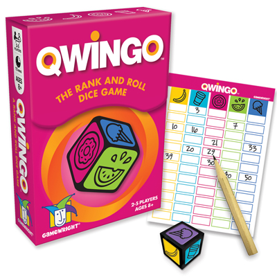 Qwingo The Rank and Roll Dice Game 1