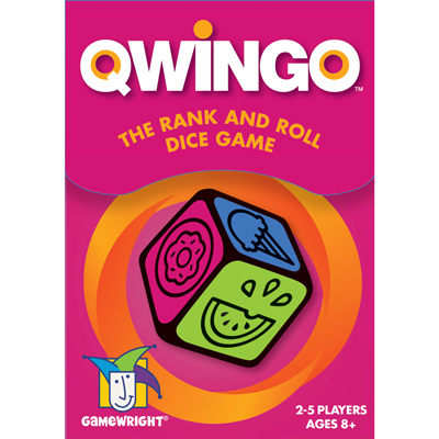 Qwingo The Rank and Roll Dice Game 2