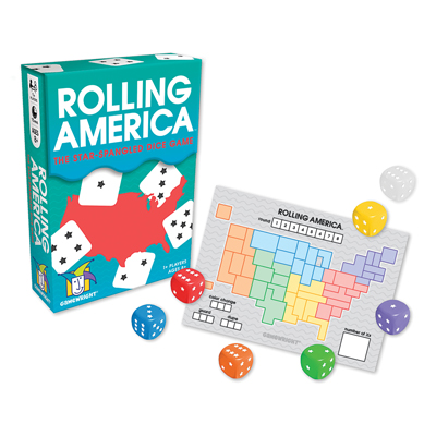 Rolling America - The Star-Spangled Dice Game 1
