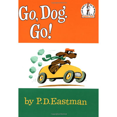 Go Dog Go by Dr. Seuss board book 1