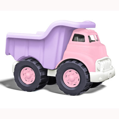 Pink Dump Truck by Green Toys 1