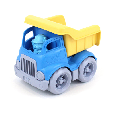 Blue and Yellow Dumper by Green Toys 1
