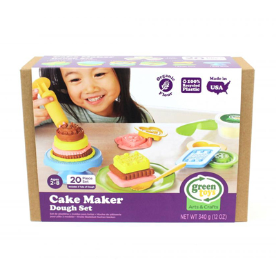 Cake Maker Dough Set by Green Toys 2