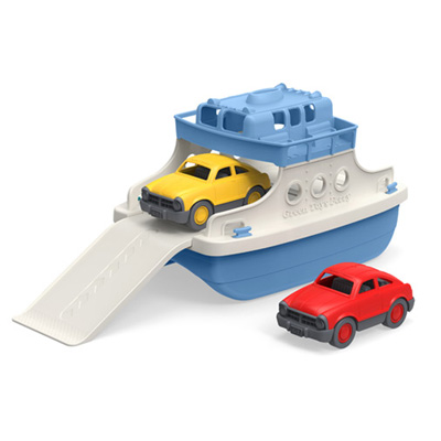 Ferry boat by Green Toys (blue top) 1