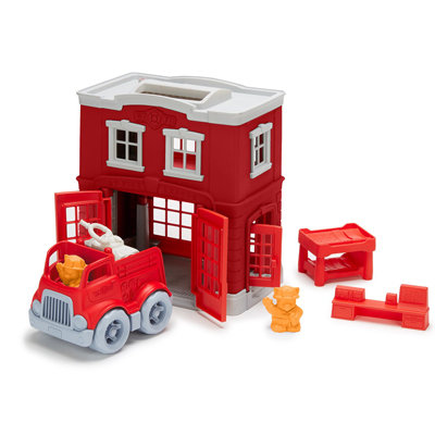 Fire Station Play Set by Green Toys 1