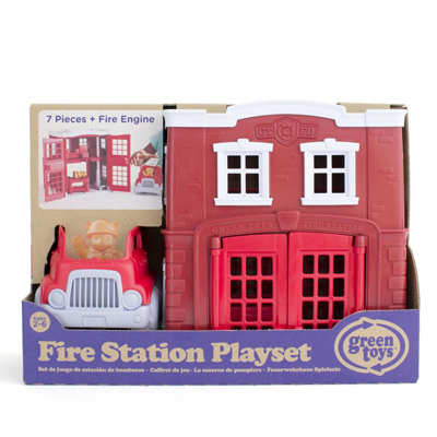 Fire Station Play Set by Green Toys 3