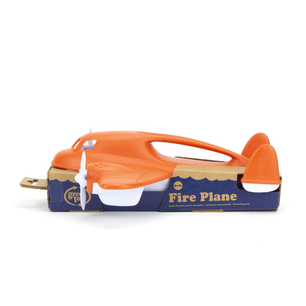 Fire Plane *Supports Fire Relief* by Green Toys 2