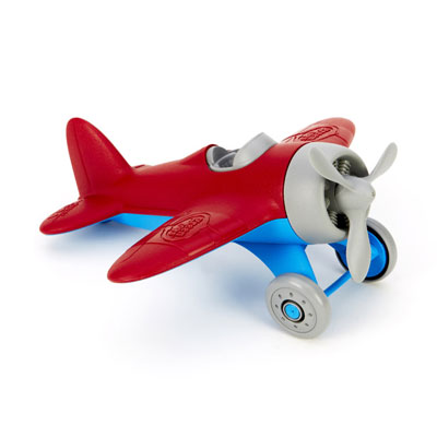 Red Airplane by Green Toys 1