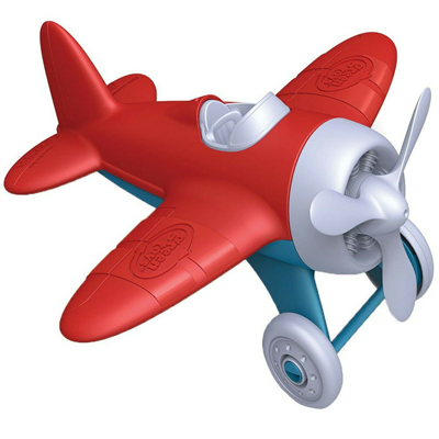 Airplane and board book set by Green Toys 2