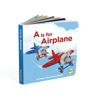 Airplane and board book set by Green Toys 3