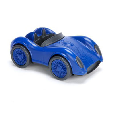 Blue Race Car by Green Toys 1