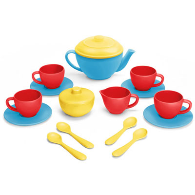 Blue Tea Set by Green Toys 1