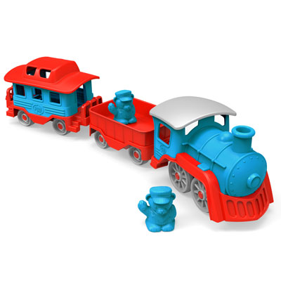 Blue Train Set by Green Toys 1