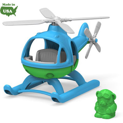 Blue Helicopter by Green Toys 1