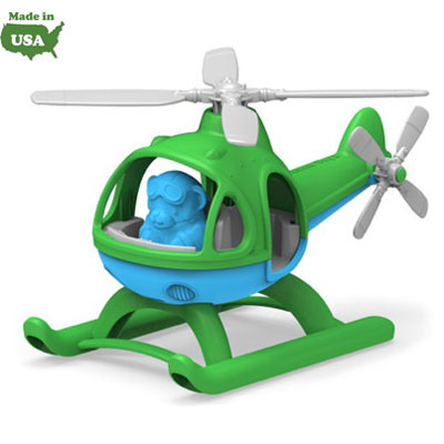 Green Helicopter by Green Toys 1
