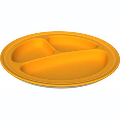 Green Eats Orange Divided Plate (2 Pack)